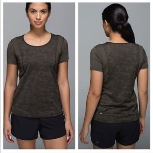 lululemon athletica Tops - Lululemon army t